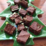 Gluten Free Three Layer Mint Brownies