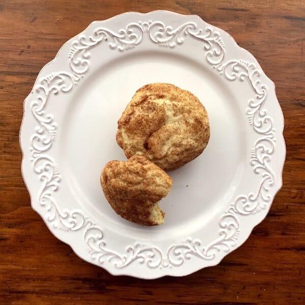 Gluten Free Snickerdoodle Cookies melt in your mouth. #glutenfreesnickerdoodlecookies, #GFsnickerdoodles, #recipeideashop