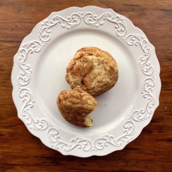 Gluten Free Snickerdoodle Cookies.