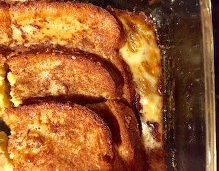 Overnight Baked French Toast
