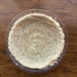 Sweet Gluten Free Pie Crust for a fruit pie