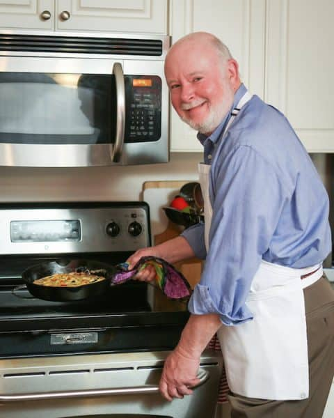Don Crawford: I'm the weekend cook.