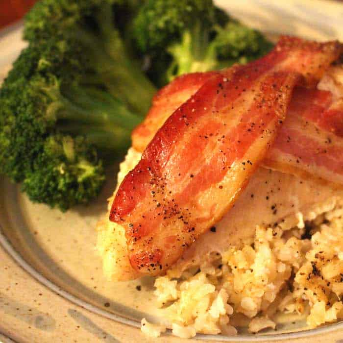 You are gonna love this Bacon Wrapped Chicken.