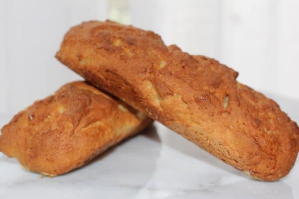 Gluten Free French Bread is easier to make than regular wheat French Bread. It is a single-rise bread.