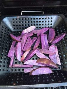 Grilled Purple Potatoes