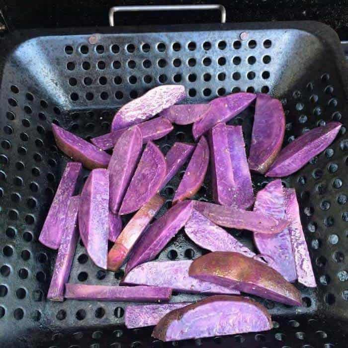 Have you tried Grilled Purple Potatoes? You are in for a treat!