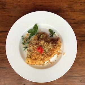 Parmesan Squash Casserole (slice)