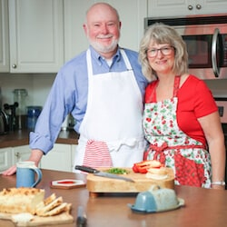 Hello there! It's Lois & Don Crawford in the kitchen at Recipe Idea Shop.