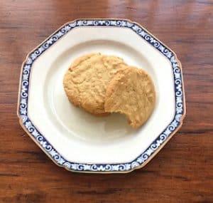 Homemade Peanut Butter Cookies (Gluten Free)