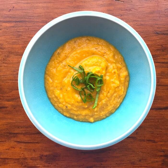 Creamy, savory Butternut Squash Soup