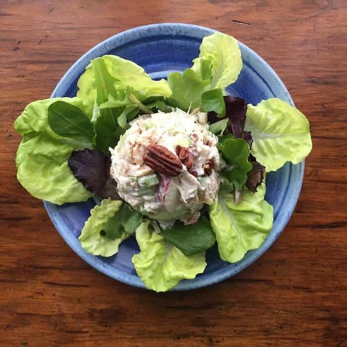 Roasted Rotisserie Chicken Salad