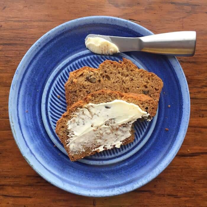 My Favorite Banana Bread. You can make it gluten free and no one will know.