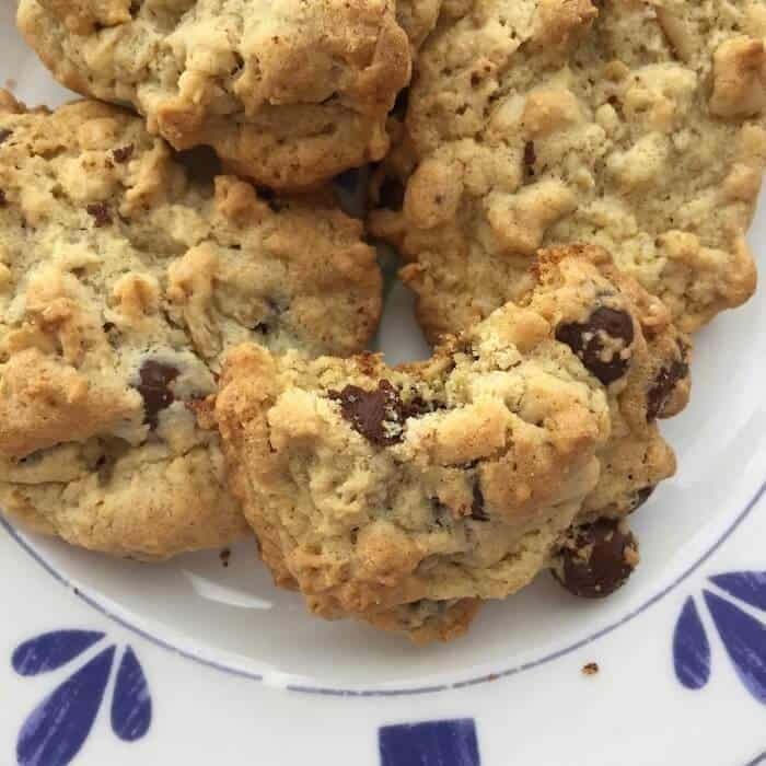 Amazing. Awesome. The BEST Gluten Free Chocolate Chip Cookies. Get the tip for making them chewy.