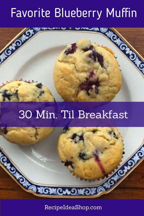 My Favorite Blueberry Muffins. Gluten free and FLAKY! Love this 30-min recipe. #favoriteblueberrymuffins #national-blueberry-muffin-day #blueberrymuffins #glutenfree #30minuterecipes #breakfast #recipes #easyrecipes #breakfastrecipes #recipe-repertoire #recipeideashop