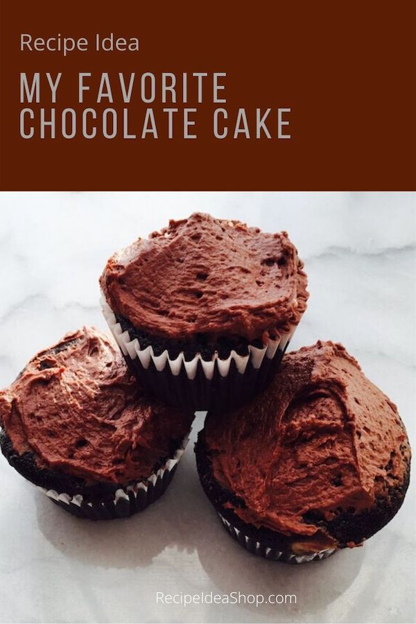 Chocolate Cupcakes are the best. Love, love, love them. #chocolatecake #myfavorite #cupcake-recipes #chocolate #dessert-recipes #cake #recipeideashop
