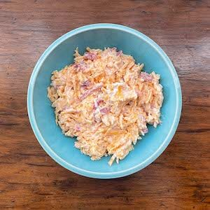 Pimento Cheese Spread. Sometimes called Pimiento Cheese.