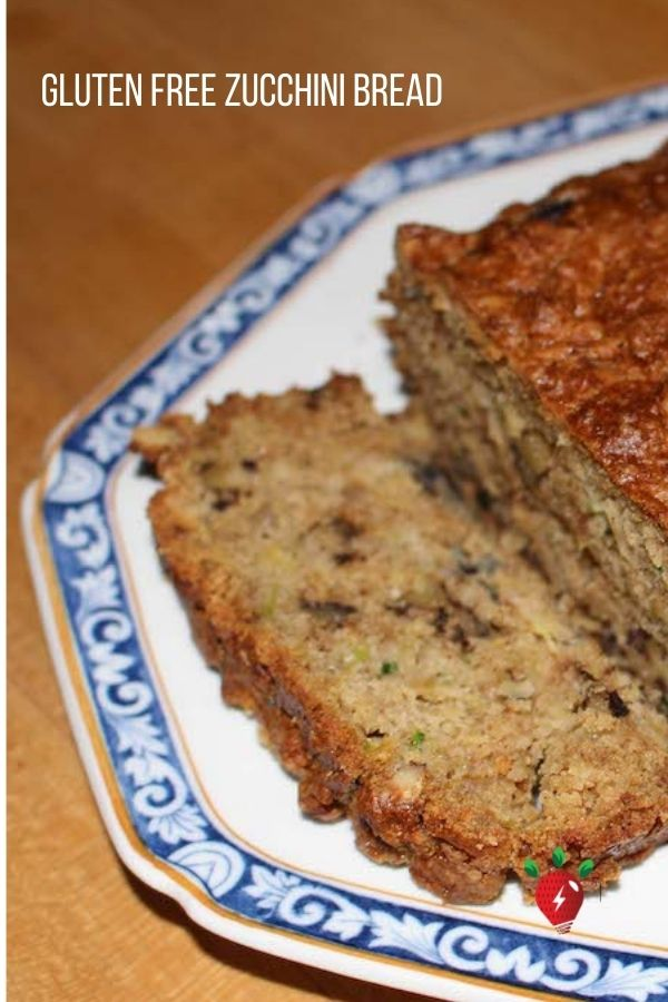 Gluten Free Zucchini Bread. The hardest part is waiting for it to bake so you can eat it. #Yum #GlutenFreeZucchiniBread #glutenfree #breakfast #HealthyTwist #RecipeIdeaShop
