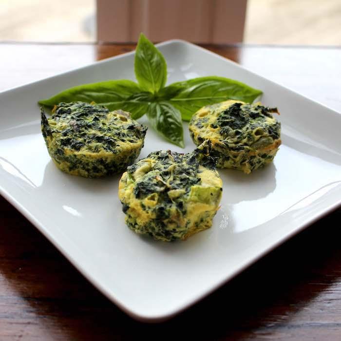 South Beach Eggs Florentine