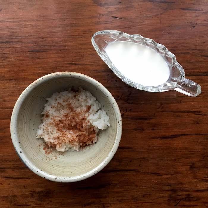 Cinnamon-Sugar Rice. So easy. So good.