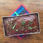Vegan Chickpea Meatloaf (Italian seasoning)