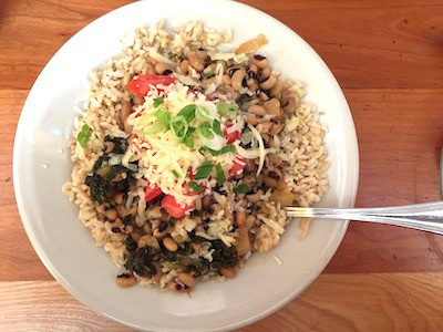 Moosewood's Southern Beans & Greens