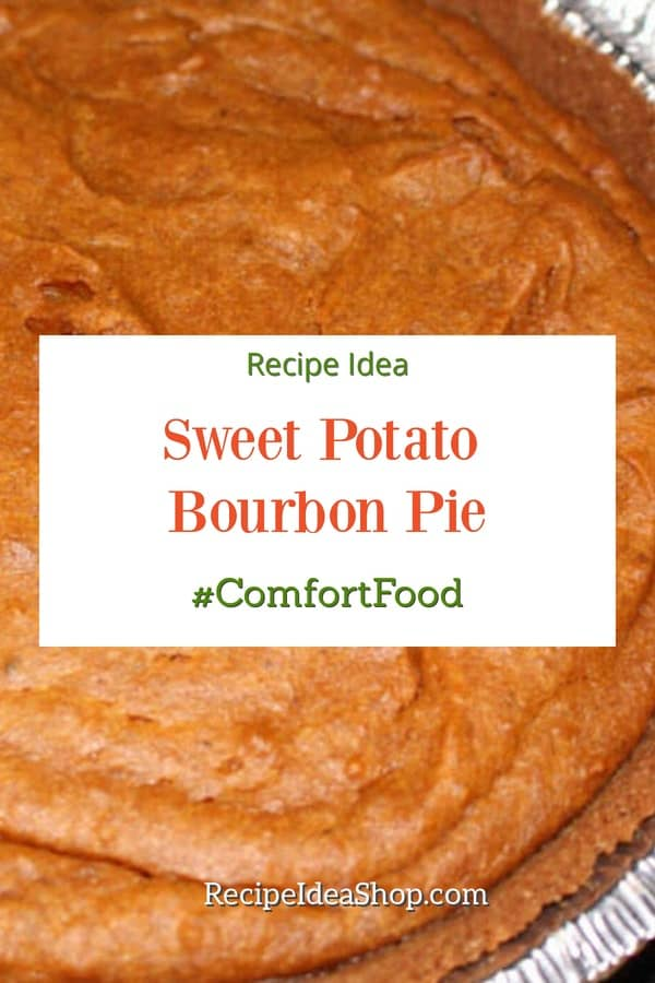Sweet Potato Bourbon Pie with a Gingersnap Crust. #yesplease What a superior combination! #sweetpotatobourbonpie #sweetpotatopie #thanksgiving #friendsgiving #pierecipes #glutenfree #recipes #recipeideashop