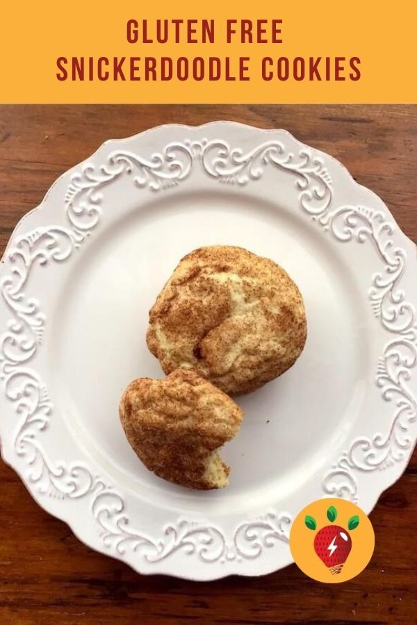 Gluten Free Snickerdoodle Cookes are so good no one will know they are GF. #glutenfreesnickerdoodlecookies #snickerdoodles #cookies #Christmas #recipes #glutenfree #recipeideashop
