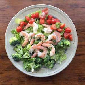 Simple Shrimp Salad