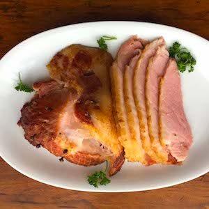 Spiral Cut Slow Cooker Ham. Yum.