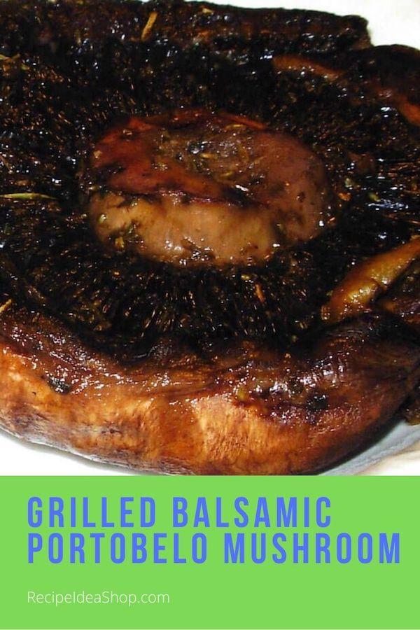 Balsamic Portobello Mushroom. This is amazing. #balsamicportobellomushrooms #portobello #portabella #portobella #portabello #recipes #comfortfood #food #grilling #recipeideashop