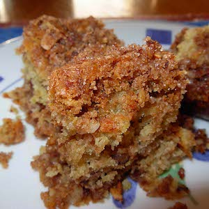 Sour Cream Cinnamon Crumb Cake (Yum!)