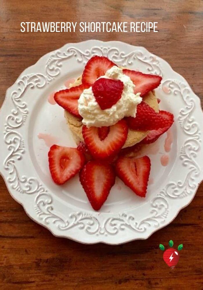 Celebrate with Strawberry Shortcake. #StrawberryShortcake #Shortcake #Recipes #HealthyTwist #RecipeIdeaShop