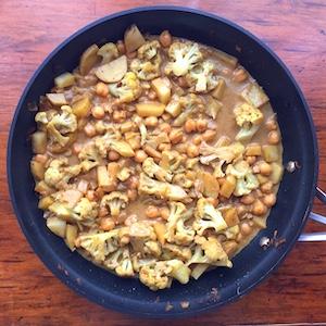 Cauliflower Garam Masala