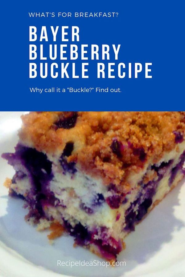 Blueberry Buckle Cake. Oh my. Such a delicious coffee cake or dessert. #blueberrybuckle #blueberryrecipes #blueberrycake #iwantsome #imhungry #comfortfood #recipes #food #recipeideashop