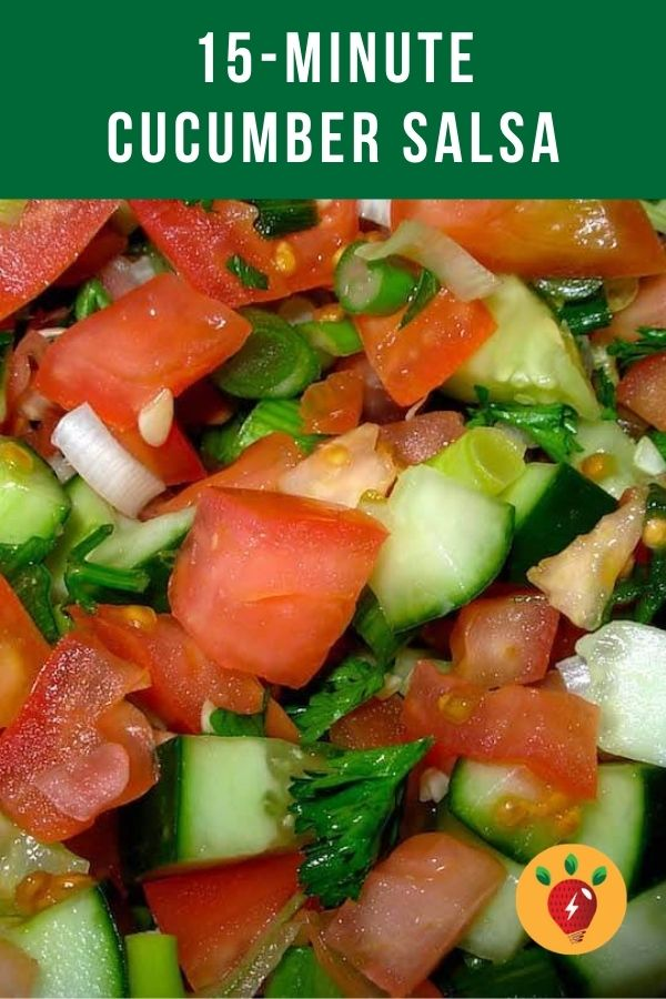 Cucumber Salsa is amazing on Red Beans & Rice OR chips. No cooking. #cucumbersalsa #nocookrecipes #recipes #glutenfree #health #dairyfree #appetizers #toppings #comfortfood #recipeideashop