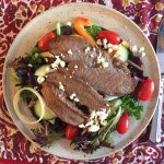 Flank Steak Salad makes a perfect lunch or light supper.