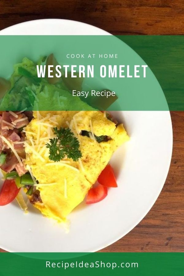 This Western Omelet Recipe (AKA Denver Omelet) is my favorite omelet. What's yours? #westernomeletrecipe #omelet #omelette #denveromelet #glutenfree #dairyfree #recipes #breakfast #comfortfood #recipeideashop