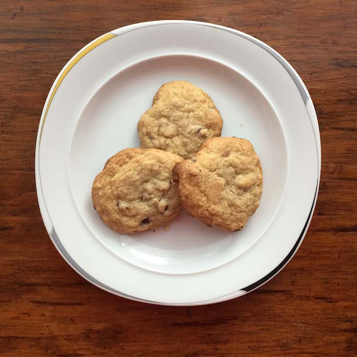 Granola Chocolate Chip Cookies are so good you won't even notice they are gluten free.