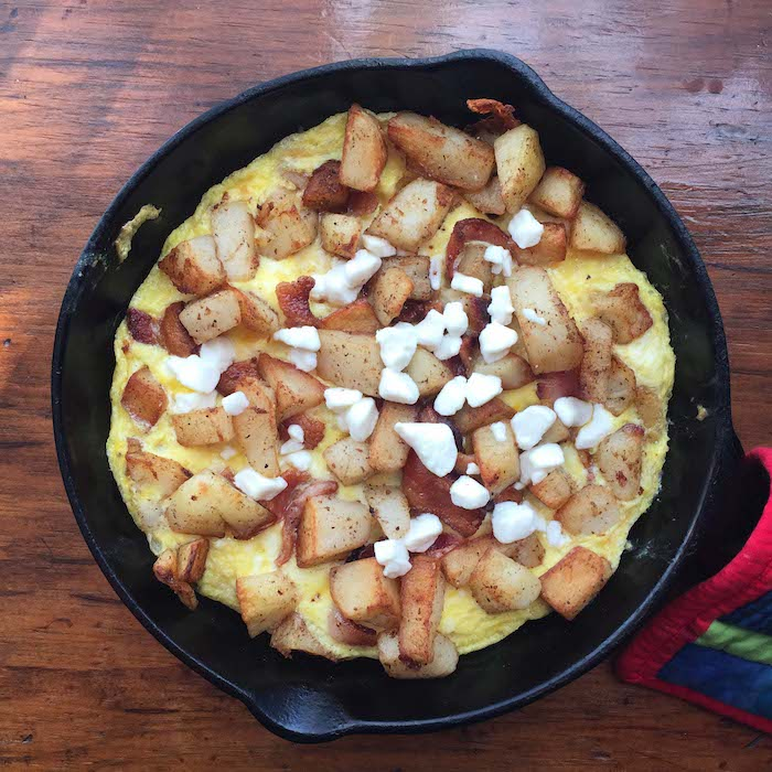 What's for breakfast? Potato Frittata!