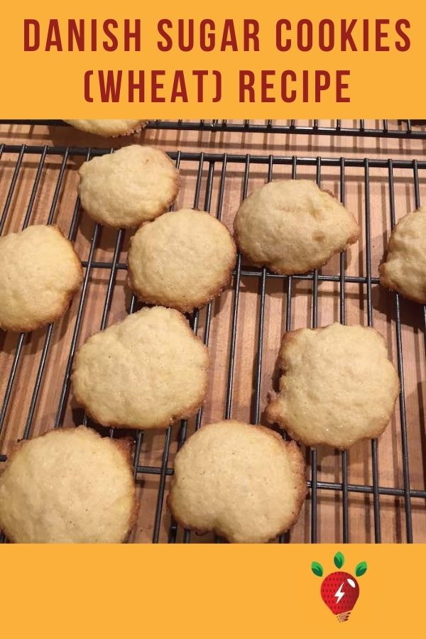 Danish Sugar Cookies (Wheat) are SO good. 25 minutes until you are eating them. #danishsugarcookieswheat #sugarcookies #cookies #recipes #Christmascookies #recipeideashop