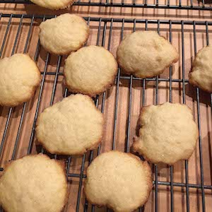 Danish Sugar Cookies (Wheat)