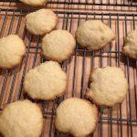 Danish Sugar Cookies (Wheat), cooling on the rack.