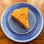 Cornbread Flourless (gluten free) is is whole grain and has whole kernel corn in it.