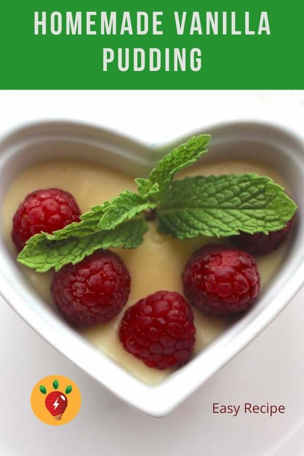 Image: Homemade Vanilla Pudding is deliciously easy. #HomemadeVanillaPudding #ValentinesDay #desserts #recipes #GlutenFree #RecipeIdeaShop