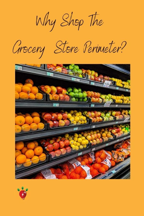 image of fruit: 5 Reasons Why You Should Shop The Grocery Store Perimeter. #GroceryStorePerimeter #5reasons #unprocessed #health #RecipeIdeaShop