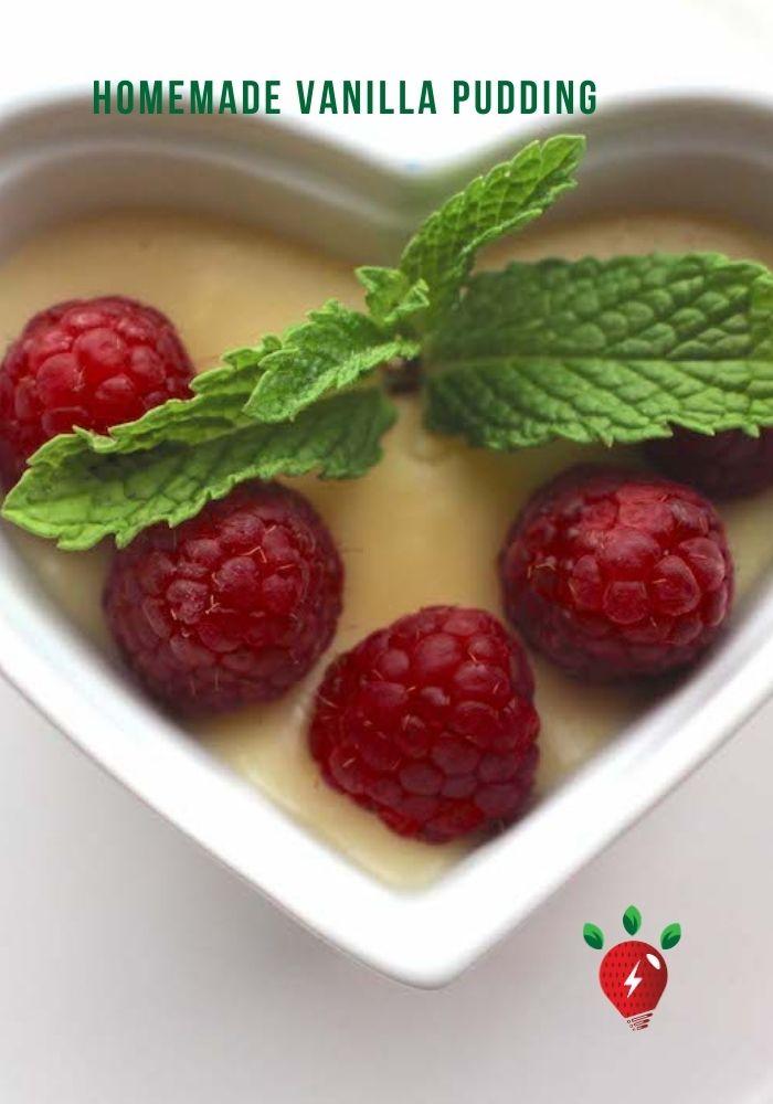 """Jackie's Pudding"" is terrific Homemade Vanilla Pudding.. #VanillaPudding #HomemadeVanillaPudding #PuddingRecipe #Recipes #GlutenFree #HealthyTwist #RecipeIdeaShop"