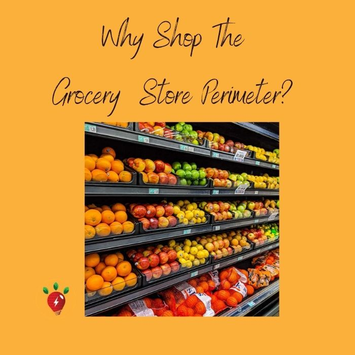 image of fruits. Why shop the grocery store perimeter? I give you five reasons why you should stick to the outside aisles. Photo by gemma on Unsplash.
