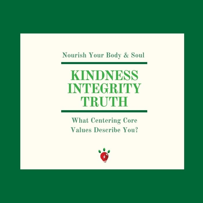 Do you live your core values?
