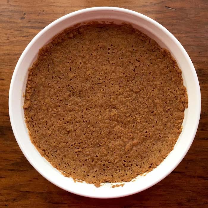 Gluten Free Graham Cracker Pie Crust