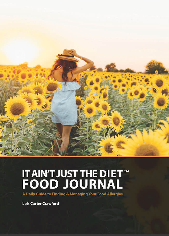It Ain't Just the Diet Food Journal will be published on Amazon in April 2021.